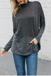 Mystree Mockneck Sweater Tunic - Product Mini Image