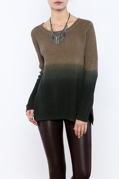 Shoptiques Product: Olive Ombre Sweater