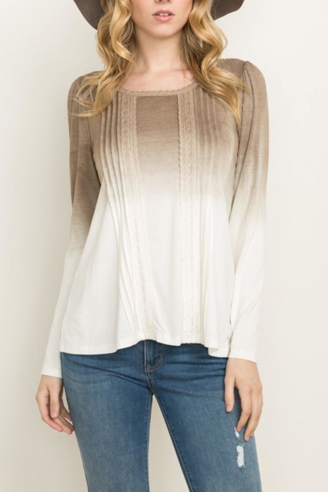 Mystree Ombre Top - Front Full Image