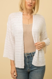 Mystree Open Cardi - Front cropped