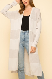 Mystree Open Cardigan - Front cropped