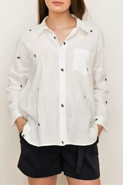 Mystree Oversize Boyfriend Shirt - Product Mini Image