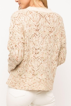 Mystree Pastel Popcorn Sweater - Alternate List Image