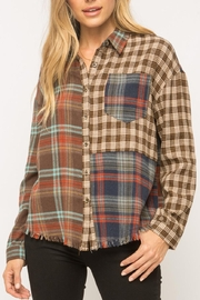Mystree Patchwork Flannel - Product Mini Image