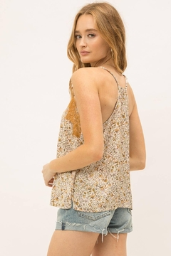 Mystree Printed Satin Camisole - Alternate List Image