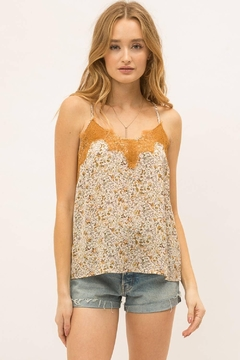 Mystree Printed Satin Camisole - Product List Image