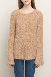 Mystree Pullover V Neck Sweater - Product Mini Image