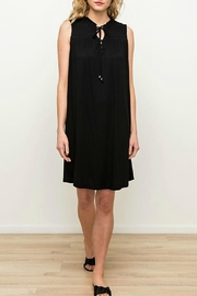 Mystree Ruffle Neck Dress - Product Mini Image