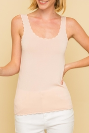 Mystree Scalloped Tank - Product Mini Image
