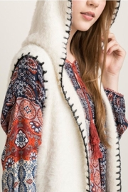 Mystree Stitched Hooded Vest - Other