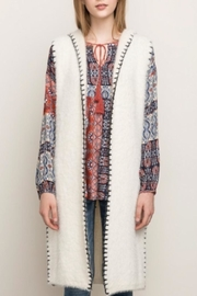 Mystree Stitched Hooded Vest - Side cropped