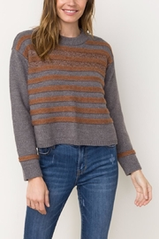 Mystree Stripe Sweater - Product Mini Image