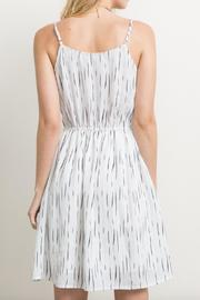 Mystree Striped Cami Dress - Side cropped