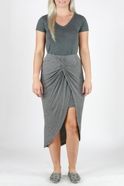 Mystree Striped Tulip Skirt - Front cropped
