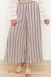 Mystree Striped Wide Pant - Product Mini Image