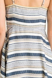 Mystree Summer Stripe Dress - Back cropped