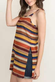 Mystree Sunset Knit Top - Front full body