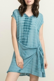 Mystree Teal Tie Dye Dress - Product Mini Image