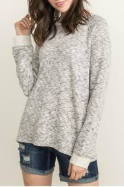 Mystree Terry Pullover Top - Product Mini Image