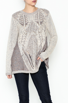 Shoptiques Product: Textured  A Line Sweater