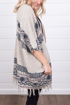 Mystree Tribal Fringe Cape - Alternate List Image