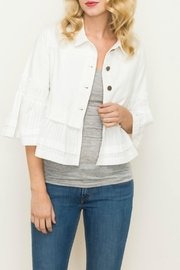 Mystree Twill Button Jacket - Product Mini Image