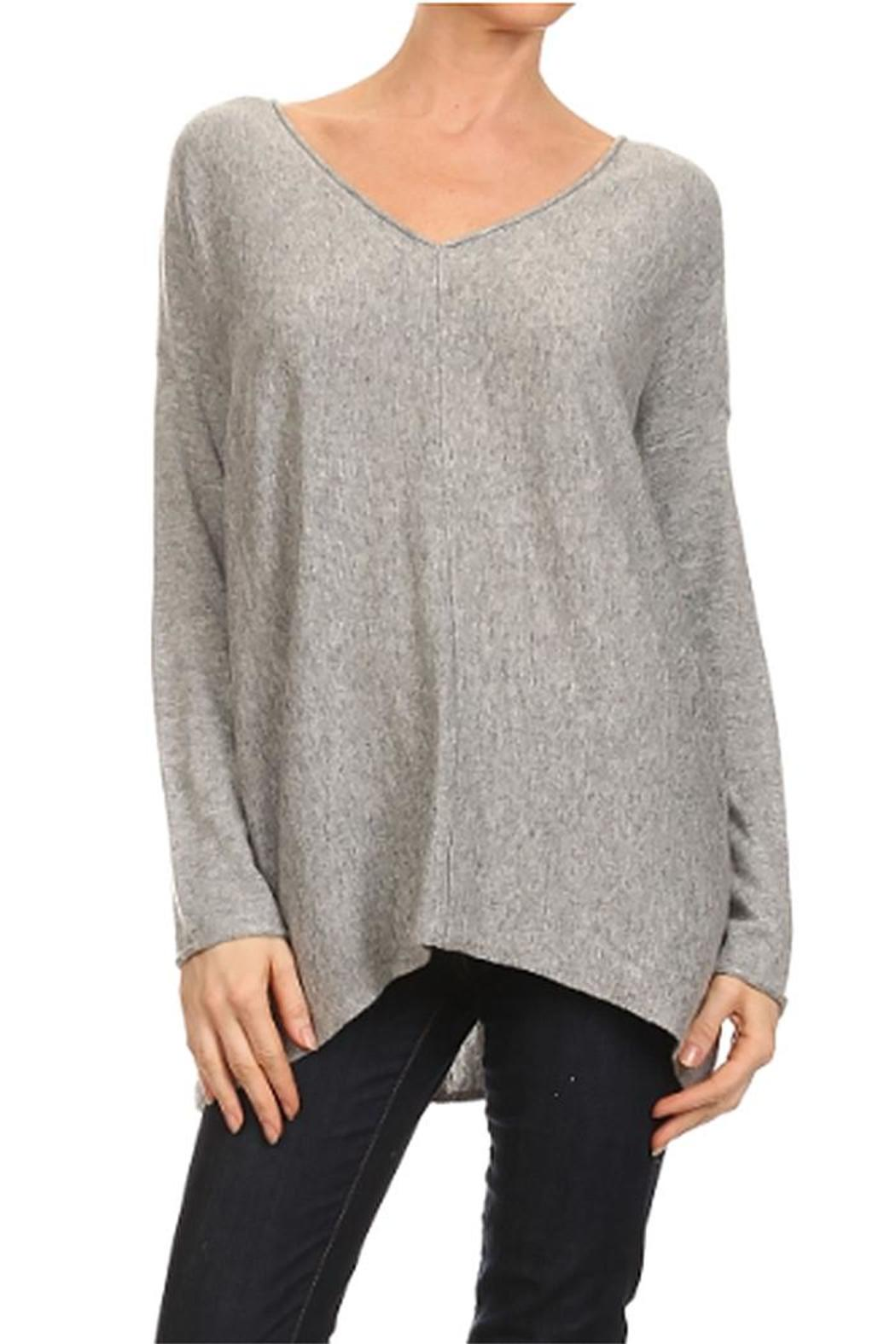 Mystree V-Neck Tunic Sweater from Michigan by Sparrow Boutique ...