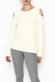 Mystree Venessa Furry Pullover - Front cropped