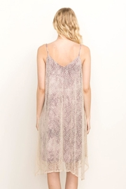 Mystree Violet Lace Cami-Dress - Side cropped