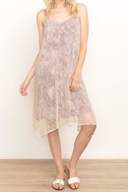 Mystree Violet Lace Cami-Dress - Front cropped