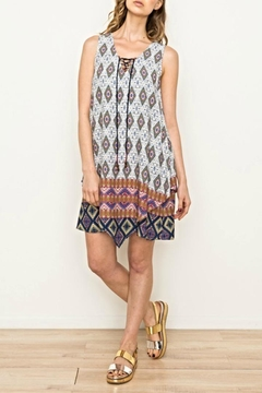 Fashionable mystree dress blocked