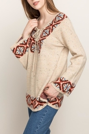 Mystree Warm Wishes Sweater - Side cropped