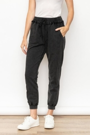 Mystree Washed Jogger Pant - Product Mini Image