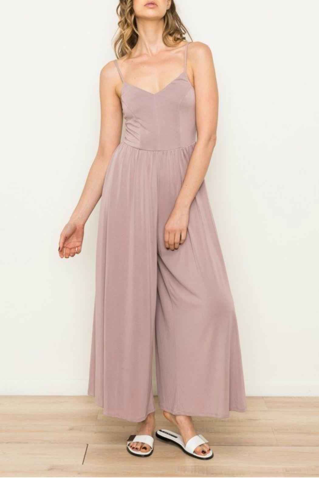 Mystree Wide Leg Jumpsuit - Main Image