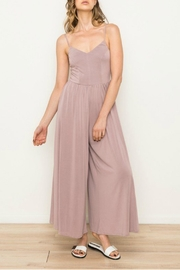Mystree Wide Leg Jumpsuit - Front cropped