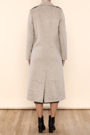 Myths of Creation Refined Coat - Back cropped