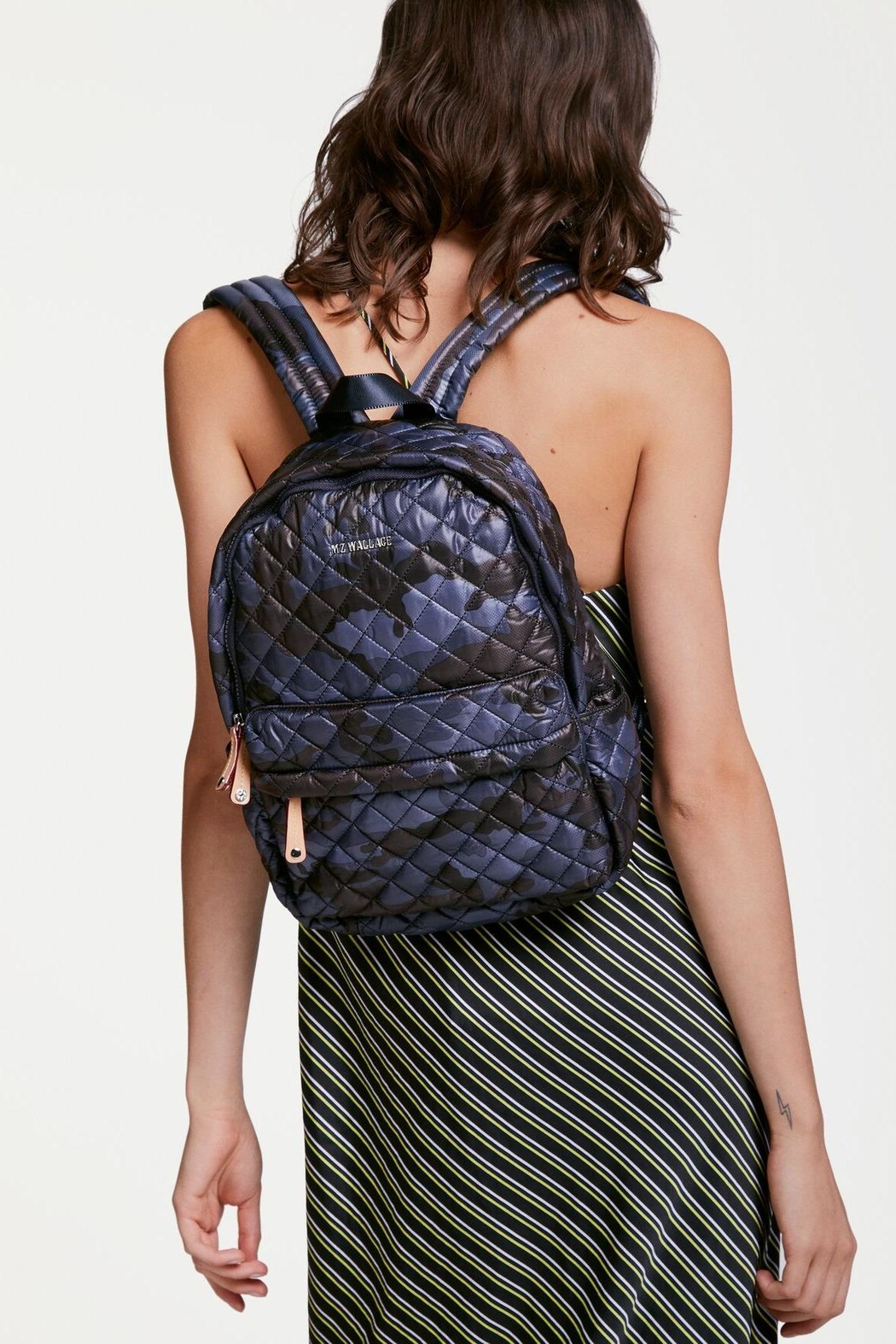MZ Wallace City Metro Backpack - Back Cropped Image