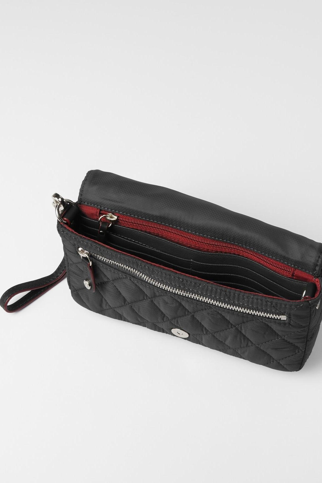 MZ Wallace Crosby Convertible Wristlet - Side Cropped Image