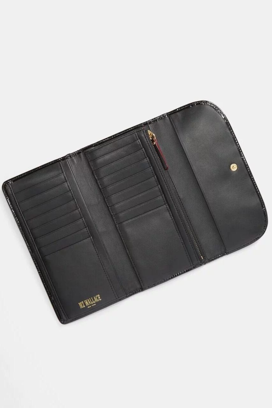 MZ Wallace Gramercy Long Wallet - Front Full Image