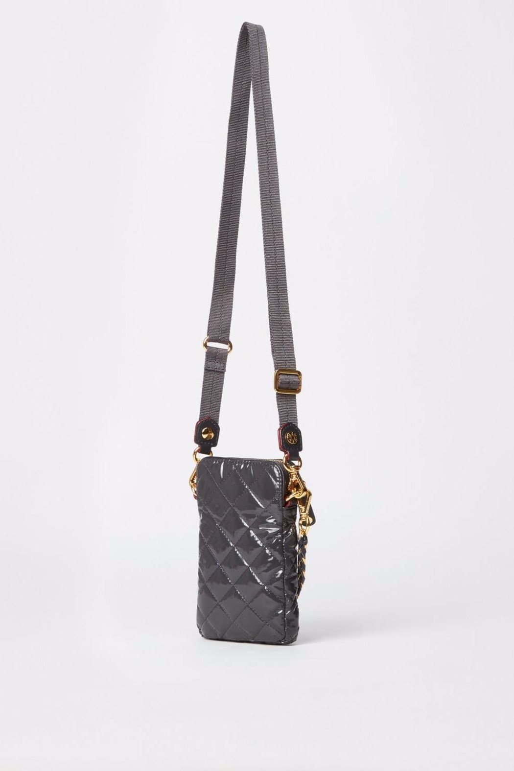 MZ Wallace Lacquer Micro Crossbody - Side Cropped Image