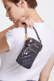 MZ Wallace Lacquer Micro Crossbody - Front cropped