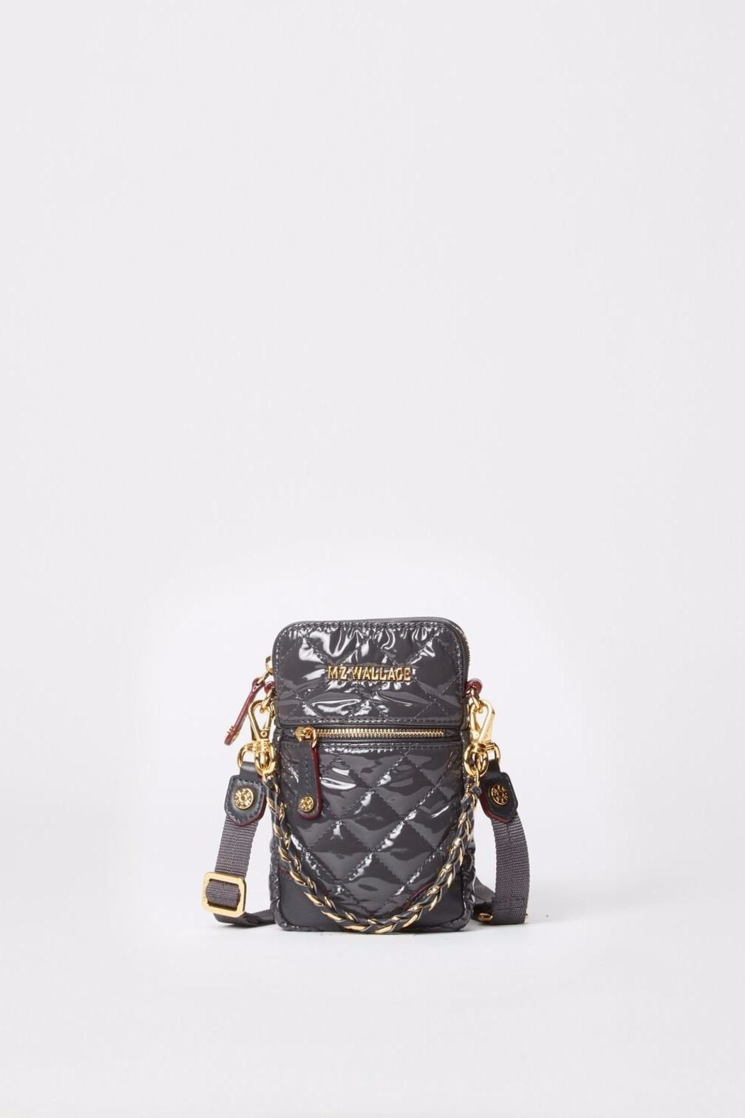 MZ Wallace Lacquer Micro Crossbody - Front Full Image