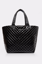 MZ Wallace Large Lacquer Metro-Tote - Front cropped