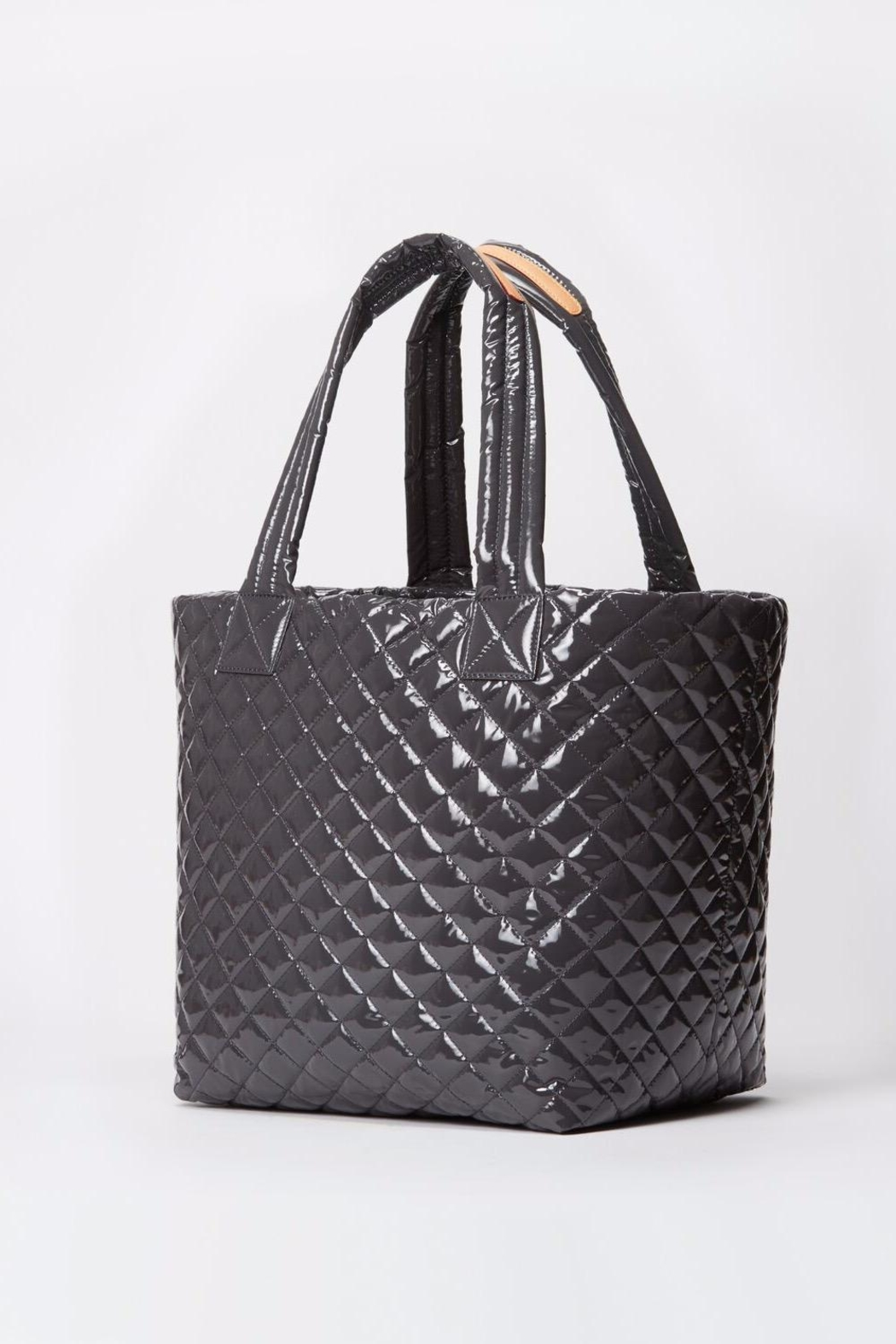 MZ Wallace Large Lacquer Metro-Tote - Front Full Image