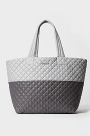 MZ Wallace Large Metro Tote Fog/magnet - Front cropped