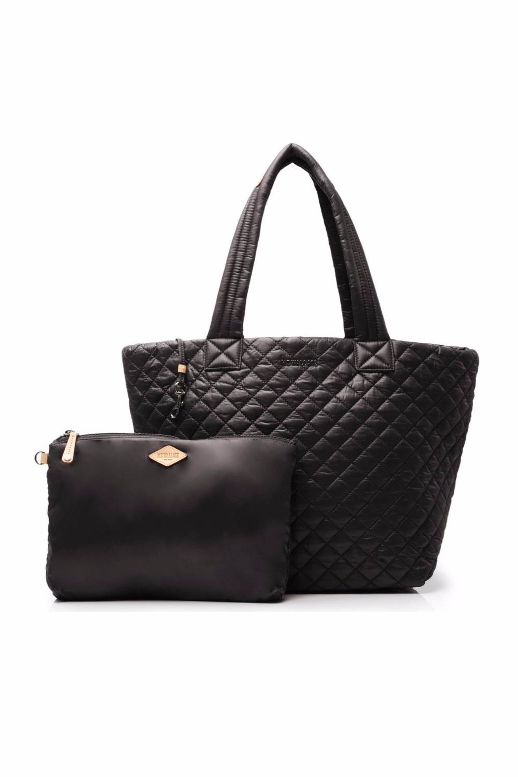 MZ Wallace Medium Metro Quilted-Tote - Back Cropped Image