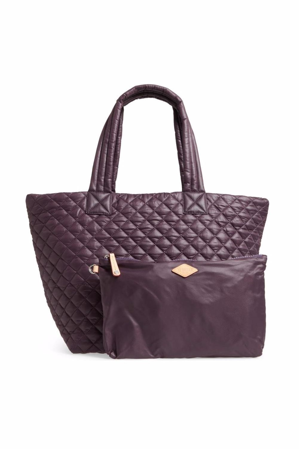 MZ Wallace Medium-Metro Quilted Tote - Side Cropped Image