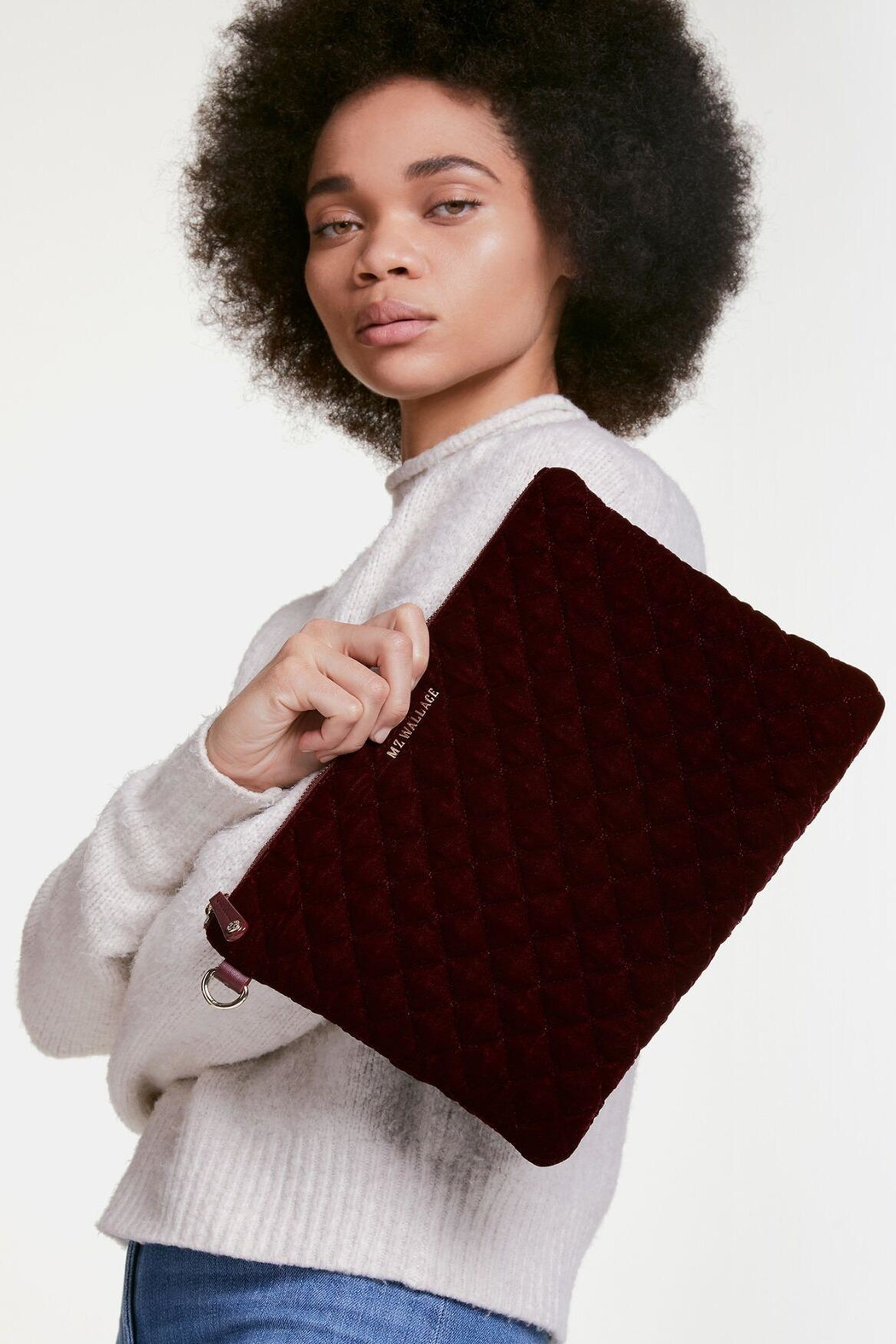 MZ Wallace Metro Pouch - Side Cropped Image