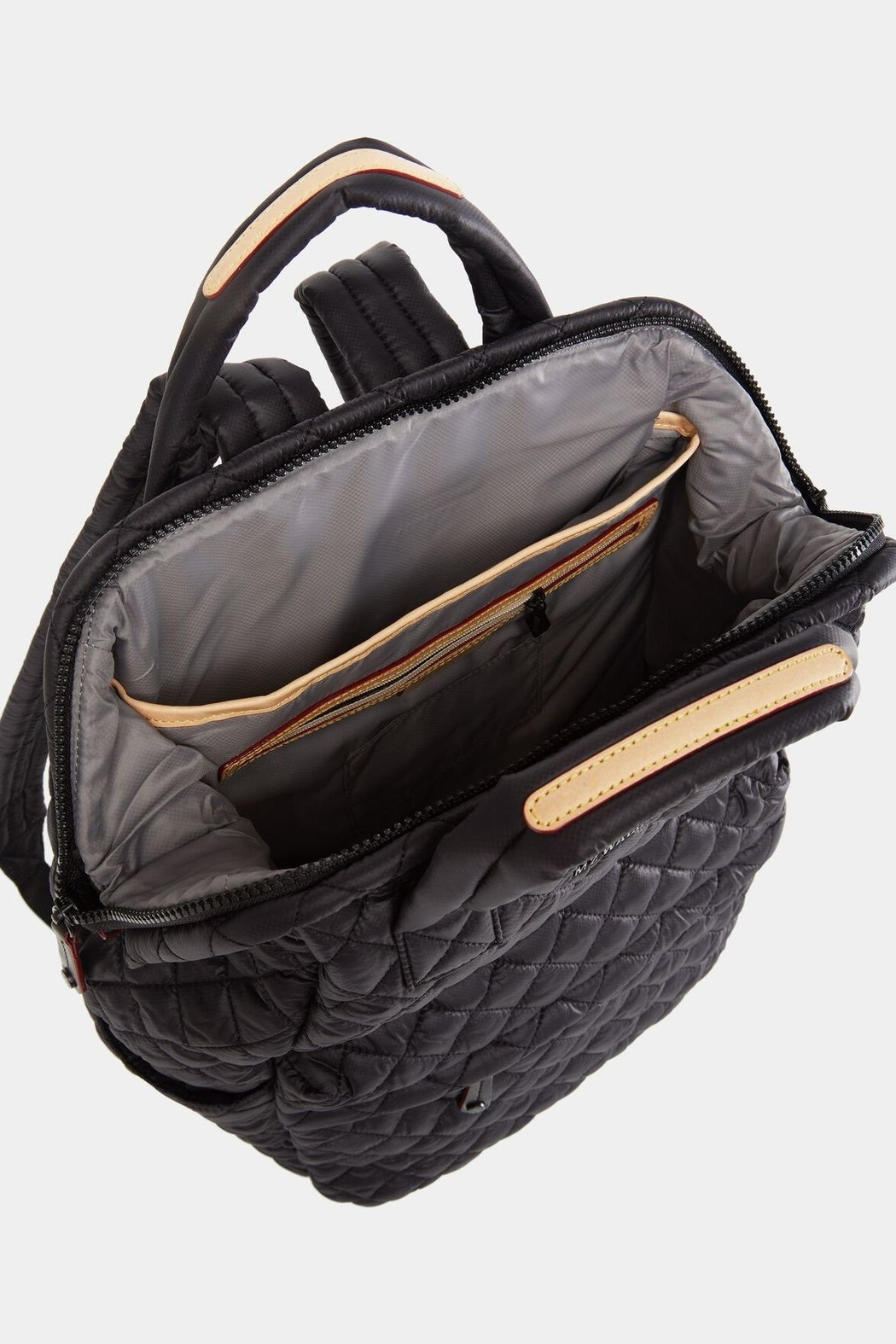 MZ Wallace Small Top-Handle Backpack - Side Cropped Image