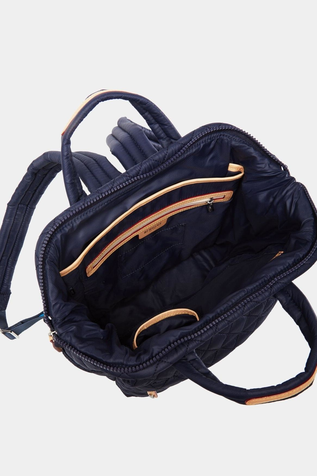 MZ Wallace Small Tophandle Backpack - Side Cropped Image